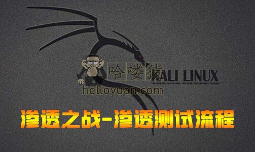 kali linux渗透实战一_第四节渗透测试的一般化流程