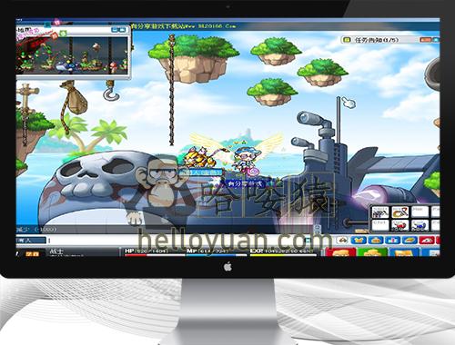冒险岛游戏源码_冒险岛一键服务端附带GM管理工具和教程